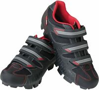 Diamondback Men's Overdrive Clipless Mountain comfort Cycling Shoe,8 US- Black