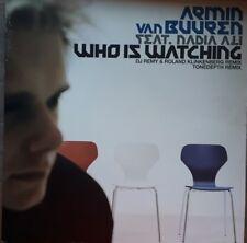 """Armin van Buuren feat. Nadia Ali """"Who Is Watching"""" * armd1022 / Remixes"""