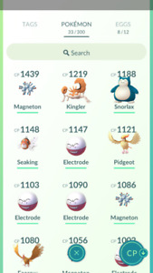 Pokemon Account Go Level 22 - 2016 for Lucky trade -Never traded - Email Changes