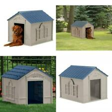 Xxl Dog Kennel For X-Large 100 Lbs Outdoor Pet Cabin Vented House Big Shelter