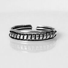 Fashion Adjustable New Toe Ring Midi Solid Sterling Silver 925 Women Girl Beach