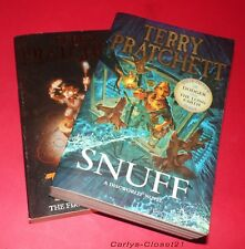 TERRY PRATCHETT * 2 Paperback Boots * Truckers * Snuff * Discworld * The Nomes *