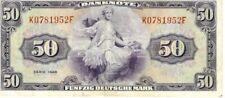 50 DM / Deutsche Mark 1948 Bank Deutsche Länder