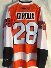 Reebok Premier NHL Jersey Philadelphia Flyers Claude Giroux PRO SEWN Orange sz S