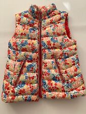 Zara Girls Flowers Puffer Vest Size 11/12 Jacket