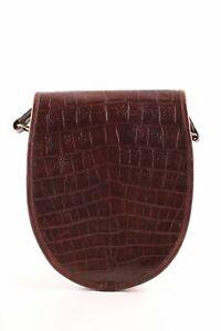 MULBERRY Sac bandoulière brun imprimé allover style décontracté Dames