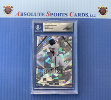 2020 Leaf Metal Crystal Pre Production MARCO LUCIANO | 1/1 | Slabbed | Giants