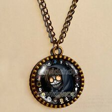 Creepypasta CREEPY PASTA TICCI TOBY Necklace Glass Pendant chain JEFF THE KILLER