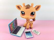 LPS Littlest Pet Shop 3 Piece Laptop Tablet Phone Accessories Lot Gift Grab Bag