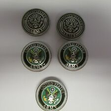 Lot of 5 US ARMY Tandy Conchos