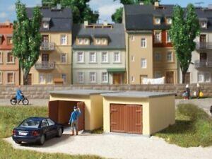 Auhagen 12341 2 Garages IN H0/Tt Kit Brand New