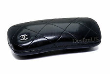 Chanel Black Quilted Case size small for Eyeglasses - Made in Italy Authentic