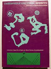 GAUTIER/SPIRITE+ LA MORTE AMOUREUSE/FLAMMARION/COLL L'AGE D'OR/1970