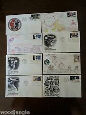 8 MARS VIKING SKYLAB MARINER  PIONEER FIRST DAY OF ISSUE POSTAGE STAMPS STAMP