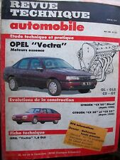 Opel VECTRA GL-GLS-CD-GT : revue technique RTA 515