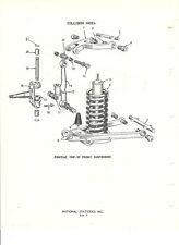 1949 1950 1951 1952 1953 1954 Pontiac NOS Front Suspension Parts Guide