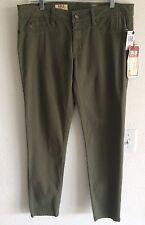 NWT SOLD DESIGN LAB 31 Super Skinny Army Green Premium Denim Jeans Pants