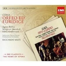 BALTSA/MARSHALL/GRUBEROVA/MUTI - ORFEO ED EURIDICE (ORPHEUS) 3CD OPER NEU GLUCK