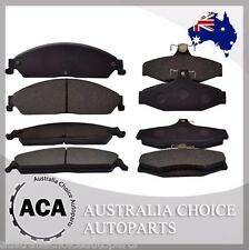 Full Set of Premium Front & Rear Brake Pads for Ford Falcon BA BF FG 1473 1376