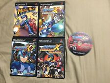 Mega Man Anniversary X Collection X7 X8 Command Mission Playstation 2 Complete