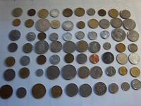 70 COINS FROM ALL OVER THE WORLD [#466] NICE GIFT/EDUCATIONAL MIXED LOT
