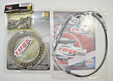 Yamaha YFZ 450 2007-2013 Tusk Clutch, Springs Cover Gasket, & Cable Kit