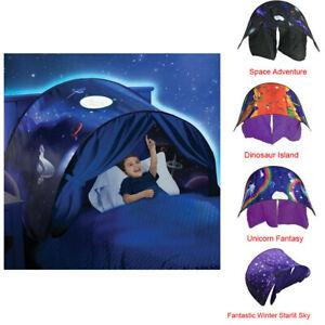Foldable Tent Space Adventure Kids Dream Tents Winter Wonderland Unicorn Pop Up