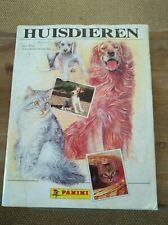 panini album komplett huisdieren 1989