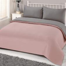 Brentfords Single Size Duvet Cover - Blush Pink Grey(BRENTBLSGY61)