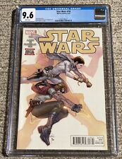 Star Wars #18 - Doctor Aphra and Princess Leia Cover - Marvel 2016 - CGC 9.6 NM+
