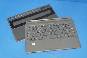"""Samsung Tab S6 10.5"""" (T860) Book Cover Keyboard Gray, EF-DT860UJEGUJ, EFDT860"""
