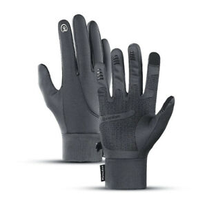 Silicone Elastic Sleeves Touch Screen Gloves Waterproof Windproof Warm Gloves