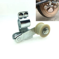 Automatic Motorcycle Steel Chain Tensioner Pulley Wheel Guide Bolt On Round Fork