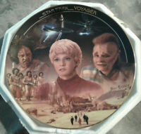 Low # 2414A NEW BEGINNINGS Star Trek Voyager Collector Plate by Hamilton w/COA