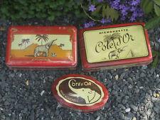 Côte d'Or chocolat 3 boîtes neuves reproductions