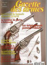 GAZETTE DES ARMES N°244 ARMEMENT DU FANTASSIN ALLEMAND 1914/18 / TROMBLON MARINE