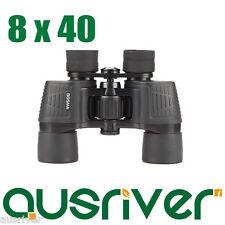Bosma New Black 8x40 Hunting Sporting Camping BAK-4 Prism Day & Night Binoculars