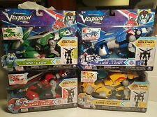VOLTRON LEGENDARY DEFENDER BLUE RED YELLOW GREEN NETFLIX SERIES COMBINER LOT NEW