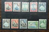 Bermuda 1938 - 52 set to 1s MM (couple gum faults see photo)