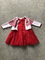 Next Baby Girls Red / Christmas / Party Dress 0-3 Months
