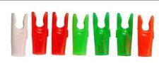 Archery Plastic Pin Nocks L - red or green 100pc-$9 >>>->