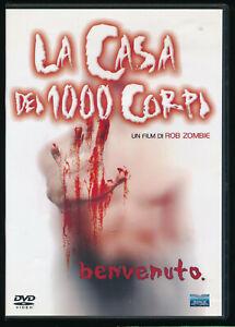 EBOND La casa dei 1000 corpi DVD D412013