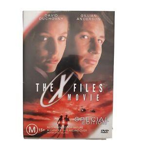 The X Files Movie DVD Movie Special Edition Region 4 Free Postage - Thriller
