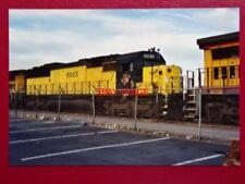 PHOTO  USA RAILWAY -  LOCO 8003 C&NW SD60 AT SALT LAKE CITY