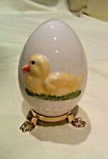 Vintage Easter Egg Stand West Germany 1979 Duck, Goebel Porcelain