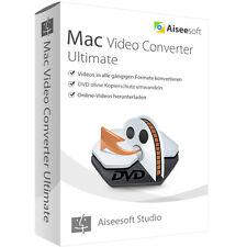 Video Converter Ultimate 9 MAC Aiseesoft Lebenslange Lizenz ESD Download