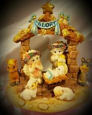 """Vintage Dreamsicles """"Away in the Manger"""" Signed #10430"""