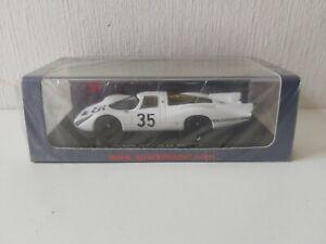 Spark 1/43 Porsche 907 R. Lins / A. Soler-Roig - #35 Le Mans 1968 - S3479