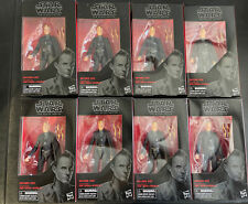 Set Of 8 Hasbro Star Wars The Black Series 6-inch Dryden Vos Action Figure Lot