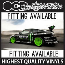 RACE DRIFT GRAPHICS DECALS KIT KEN BLOCK HOONIGAN STI WRX GTR GTT 200SX S14 VXR